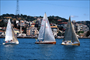 Sailboats on the Bosphorus